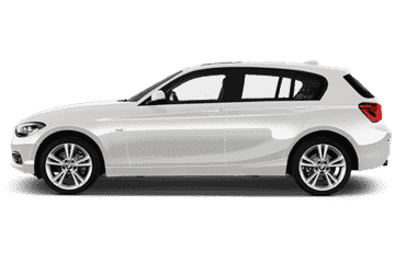 BMW 1 series white